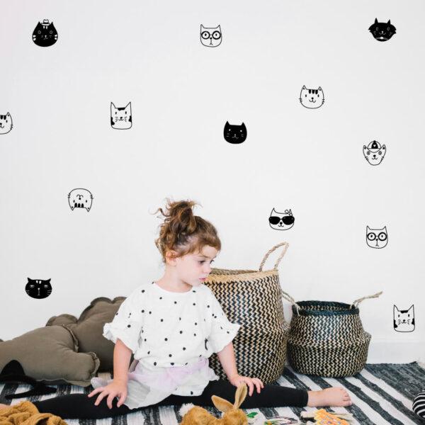 Vinil decorativo COOL CATS