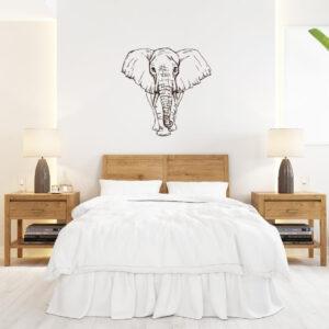 Vinil decorativo Elefante