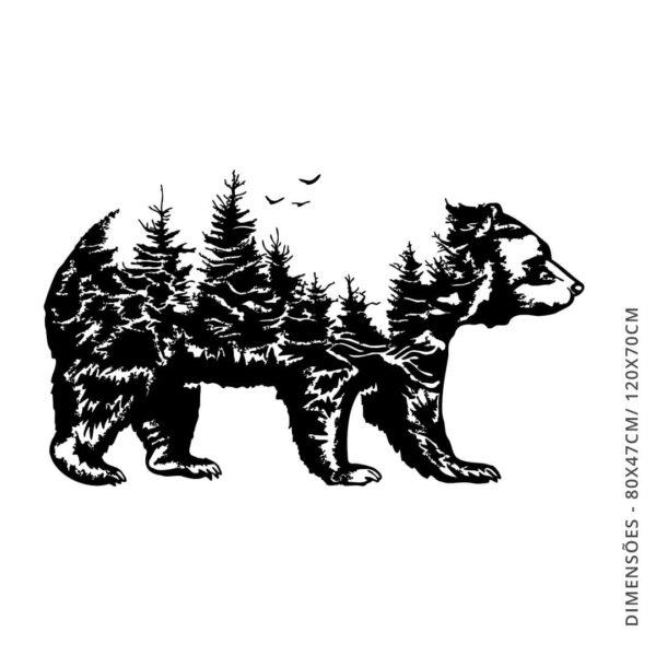 Vinil decorativo FOREST BEAR