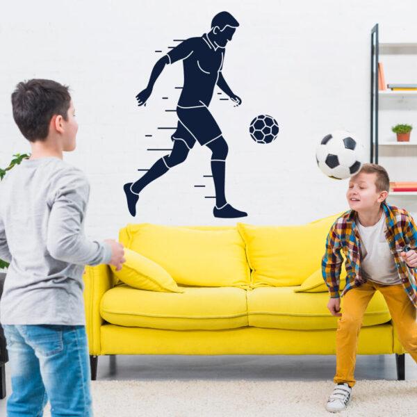 Vinil decorativo Futebol