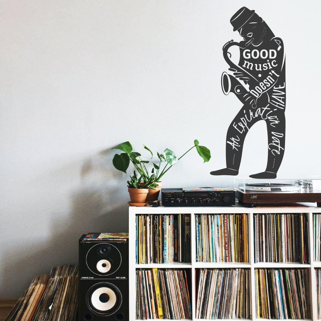 Vinil decorativo GOOD MUSIC