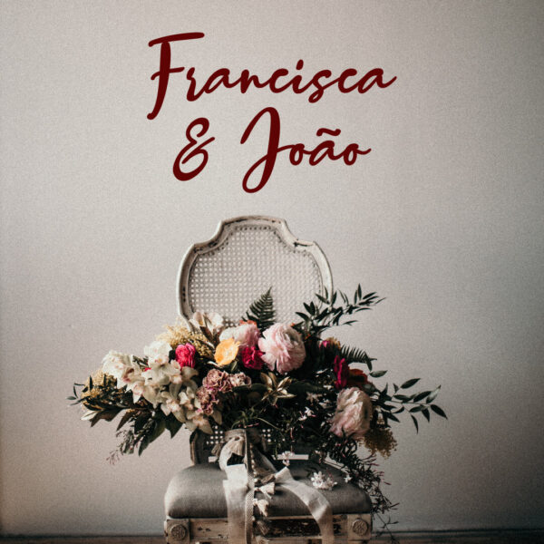 Vinil decorativo Nomes Personalizados Casamento