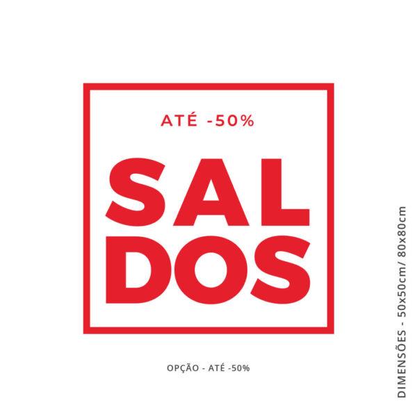 Vinil comércio SALDOS QUADRADO