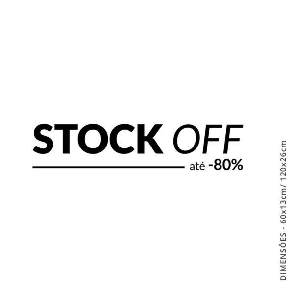 Vinil comércio STOCK OFF