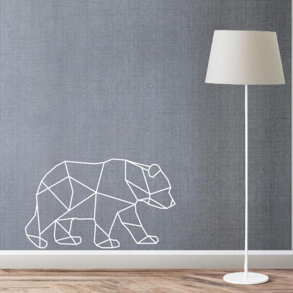 Vinil decorativo Urso