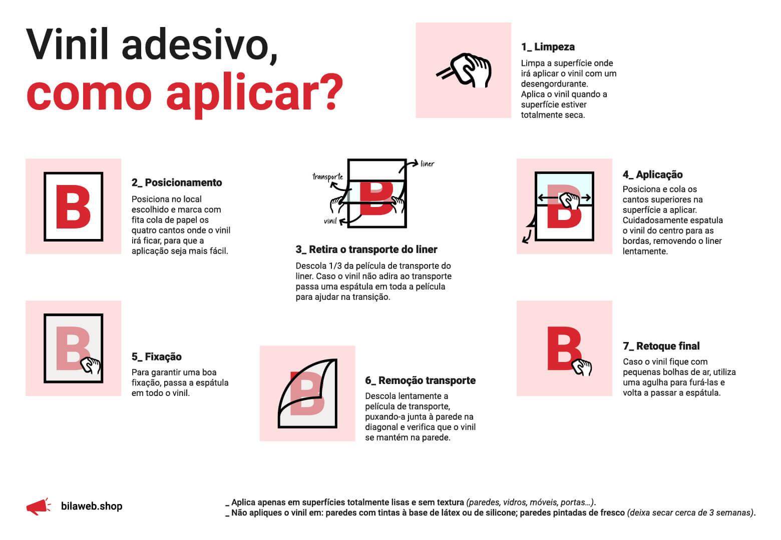 Como aplicar vinil adesivo - bilaweb.shop