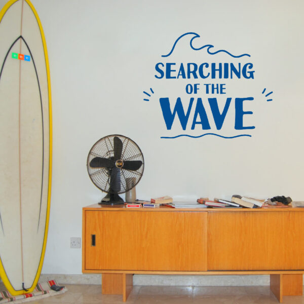 Vinil decorativo Searching of the Wave